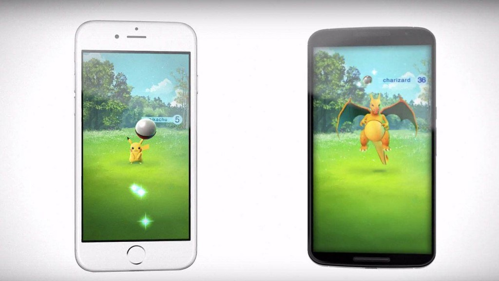 Pokemon go android of ios
